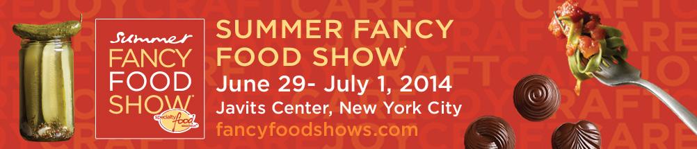 Summer Fancy Food Show NYC 2016