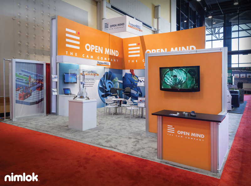 Open Mind Extra Large Trade Show Booth