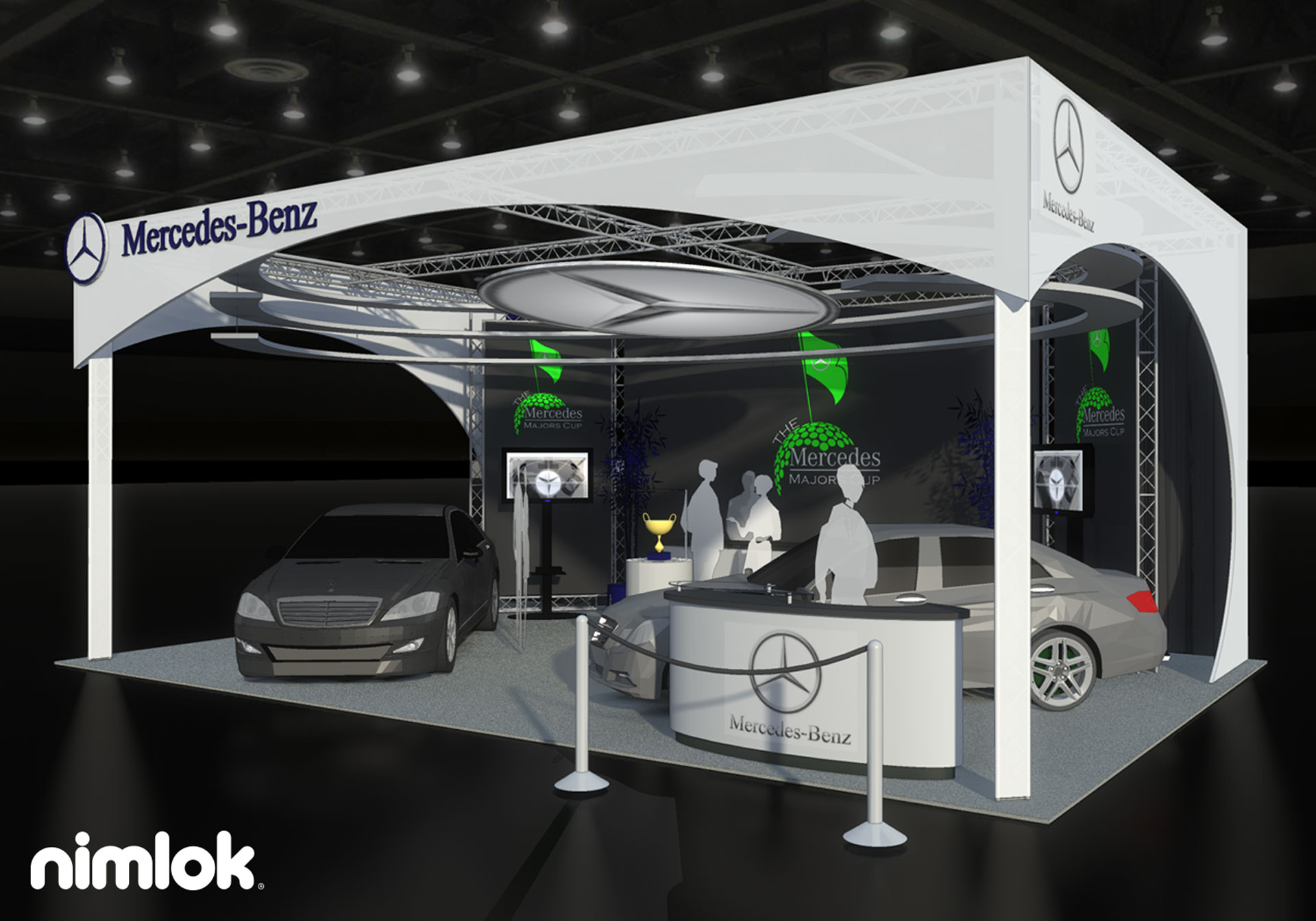 20x20 Trade Show Display by Nimlok NYC