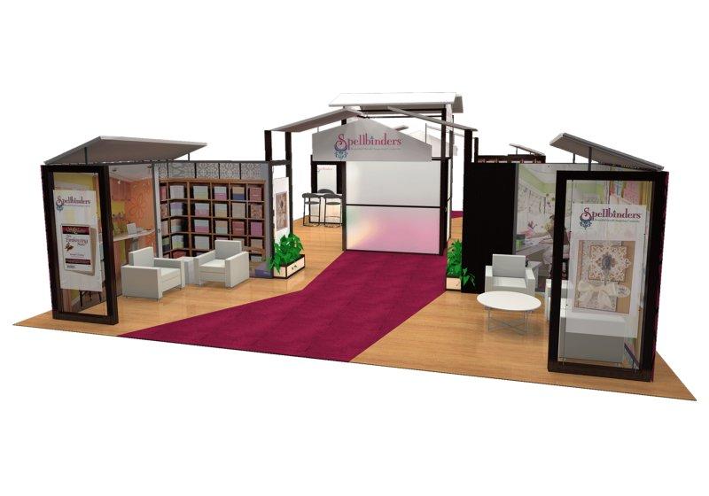 Spellbinders Large Trade Show Display