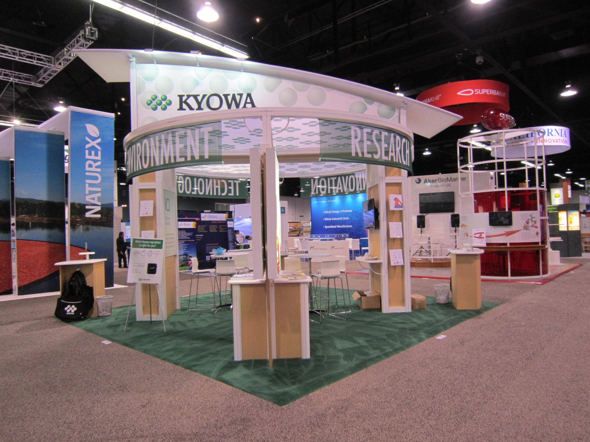 Kyowa Trade Show Booth