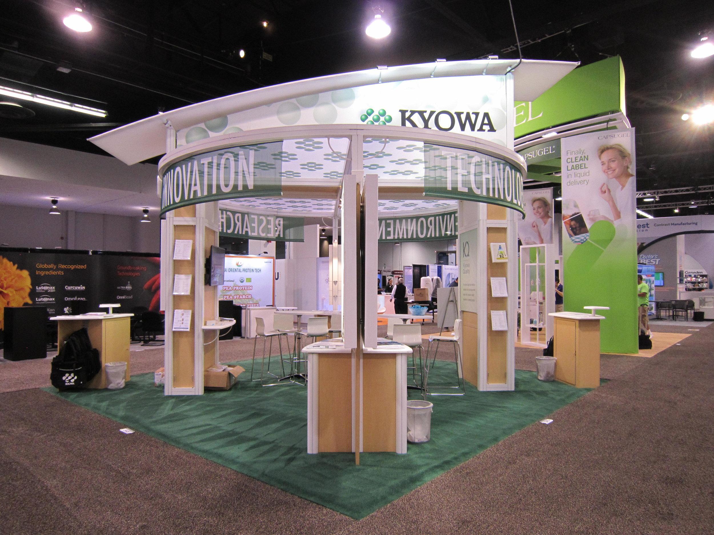 Kyowa Trade Show Display