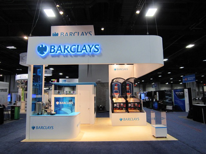 Barclay's Trade Show Games by Nimlok NYC