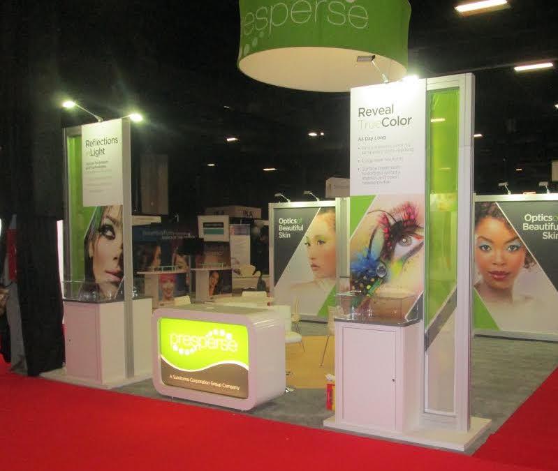 Presperse Trade Show Booth by Nimlok NYC
