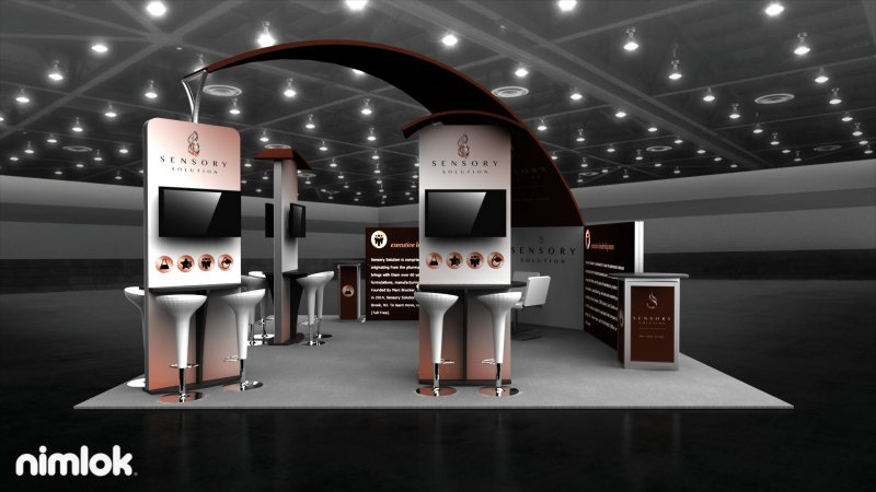 Interactive Trade Show Display by Nimlok NYC