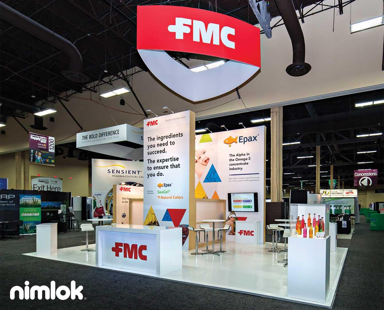 FMC 20x20 Trade Show display