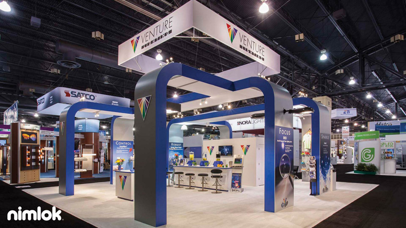 Large Modular Trade Show Display