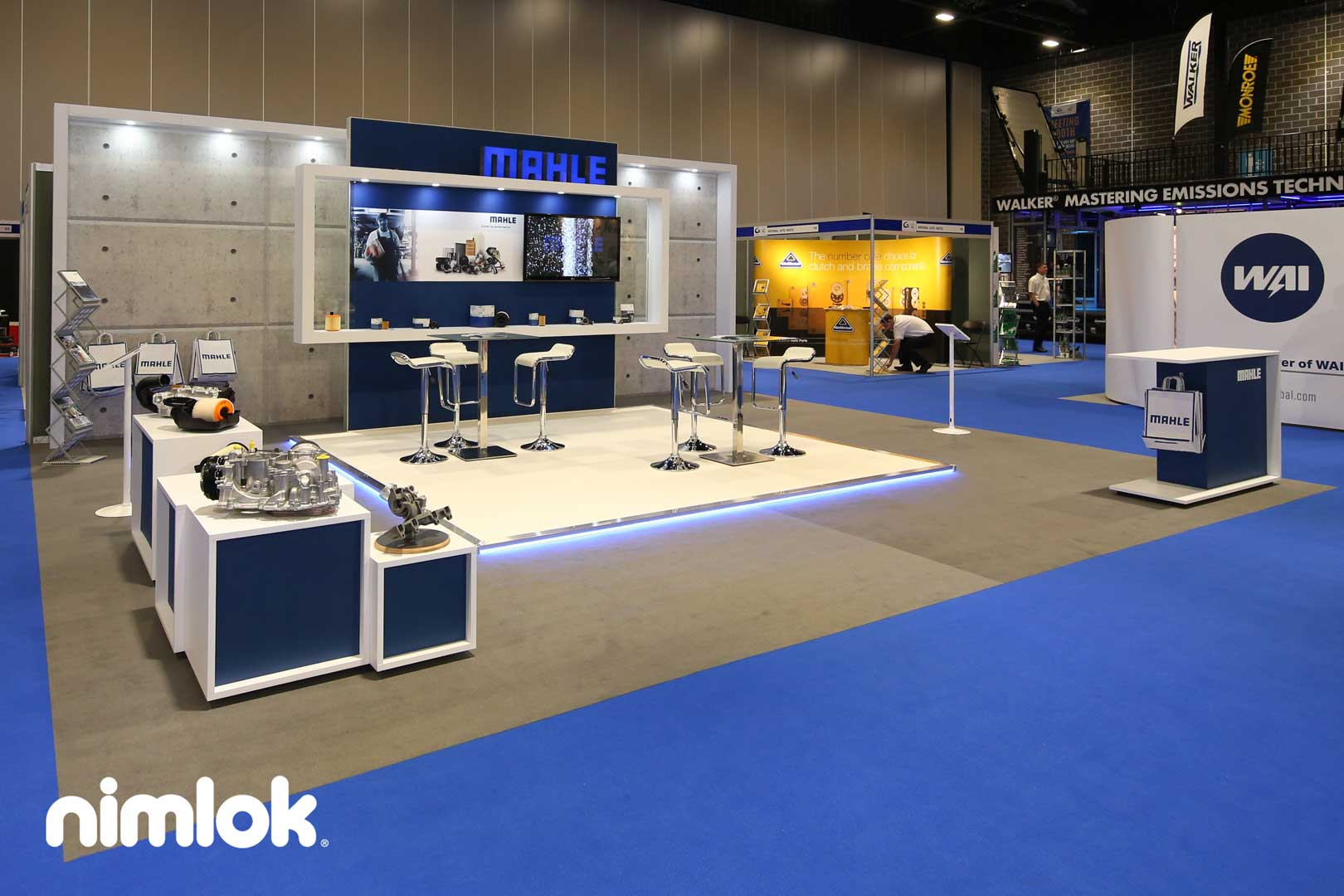 Mahle Trade Show Display