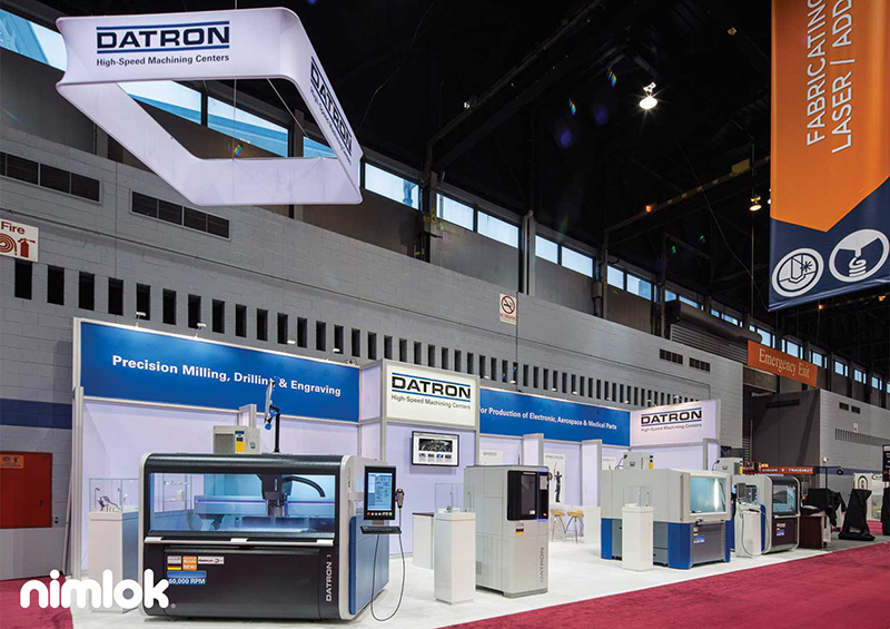 Booth for Trade Show - Datron