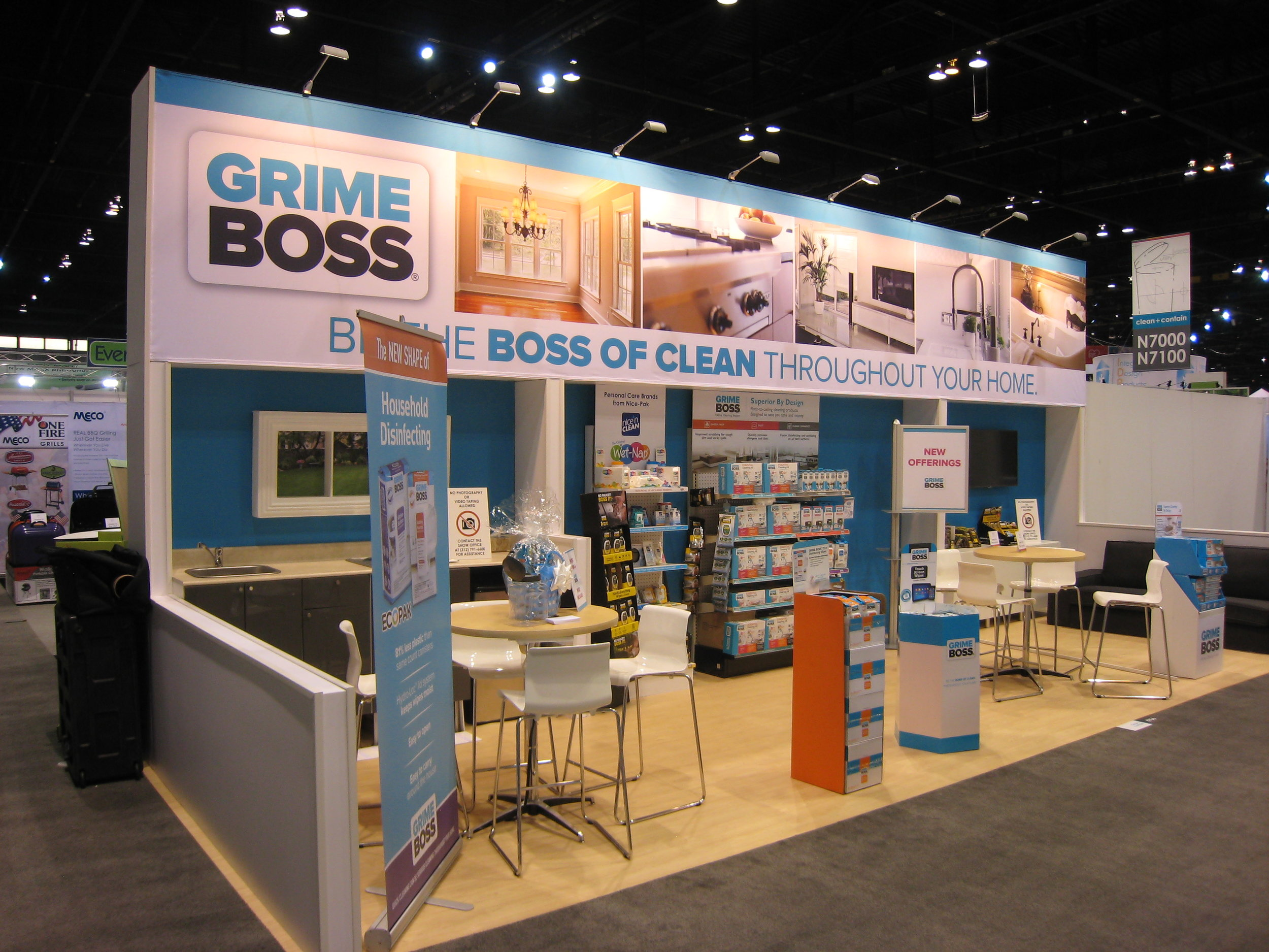 Grime Boss Exhibit