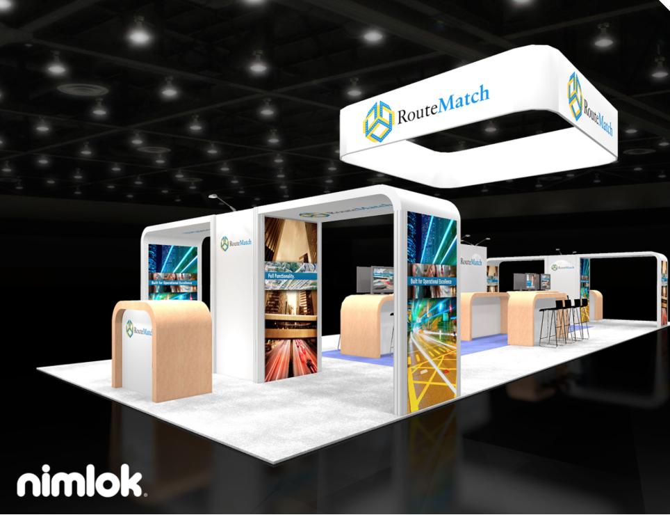 Route Match Software Booth Design