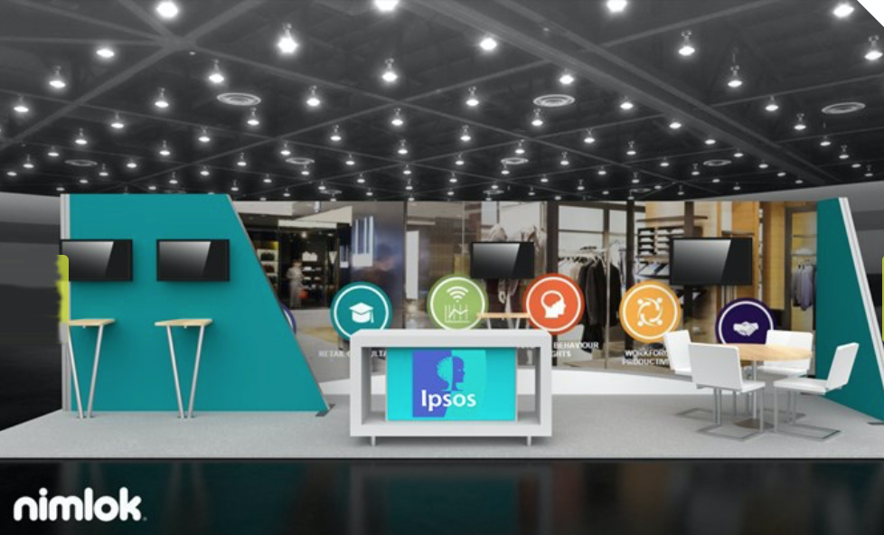 Ipsos Software Booth Design