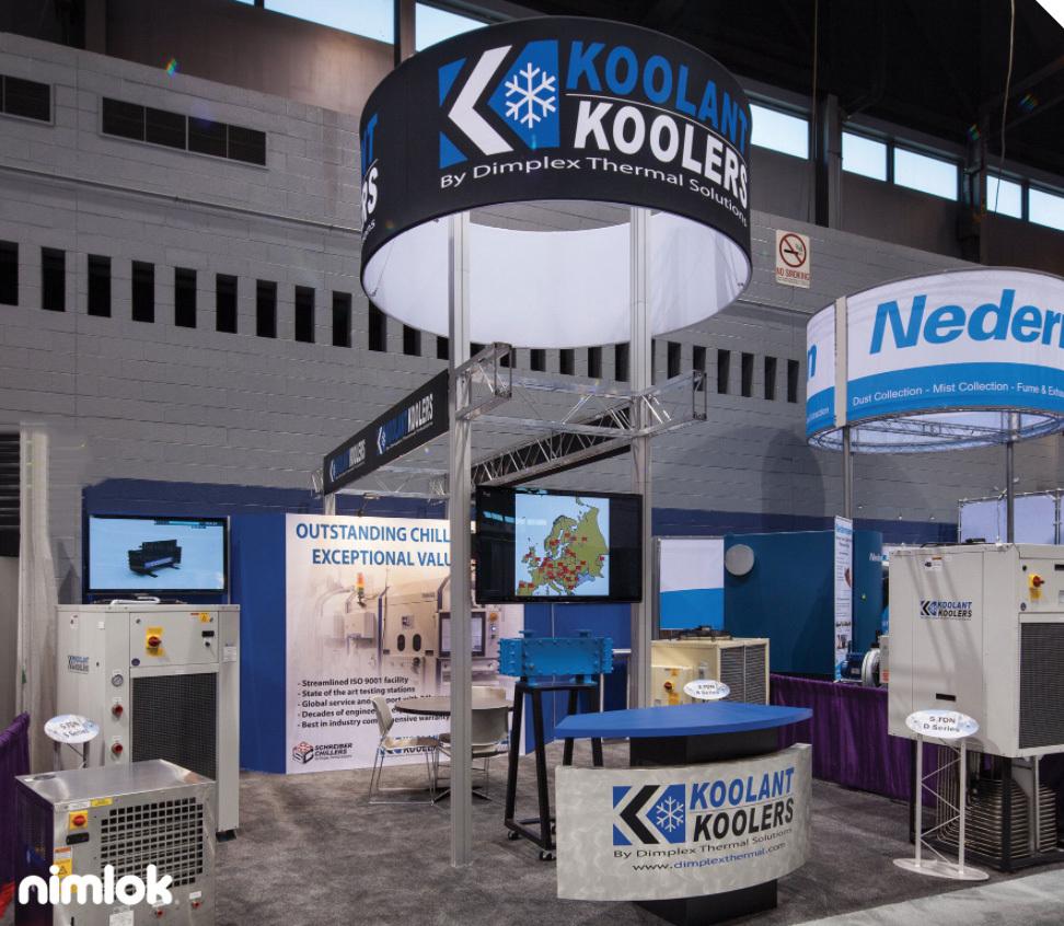 Koolant Koolers Booth Design