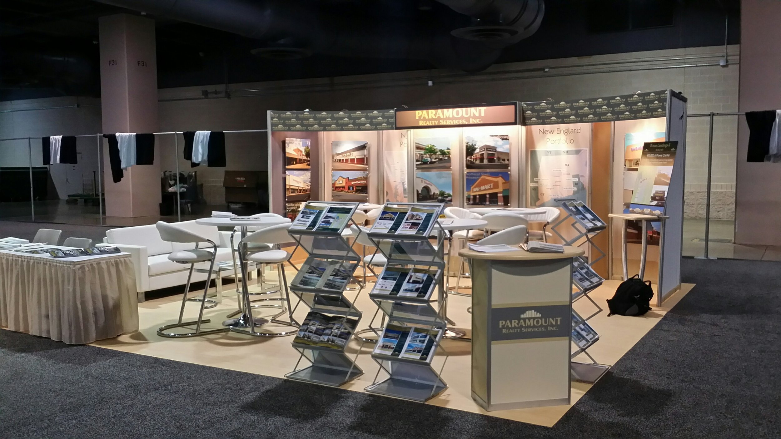 Paramount Realty Services Trade Show Display