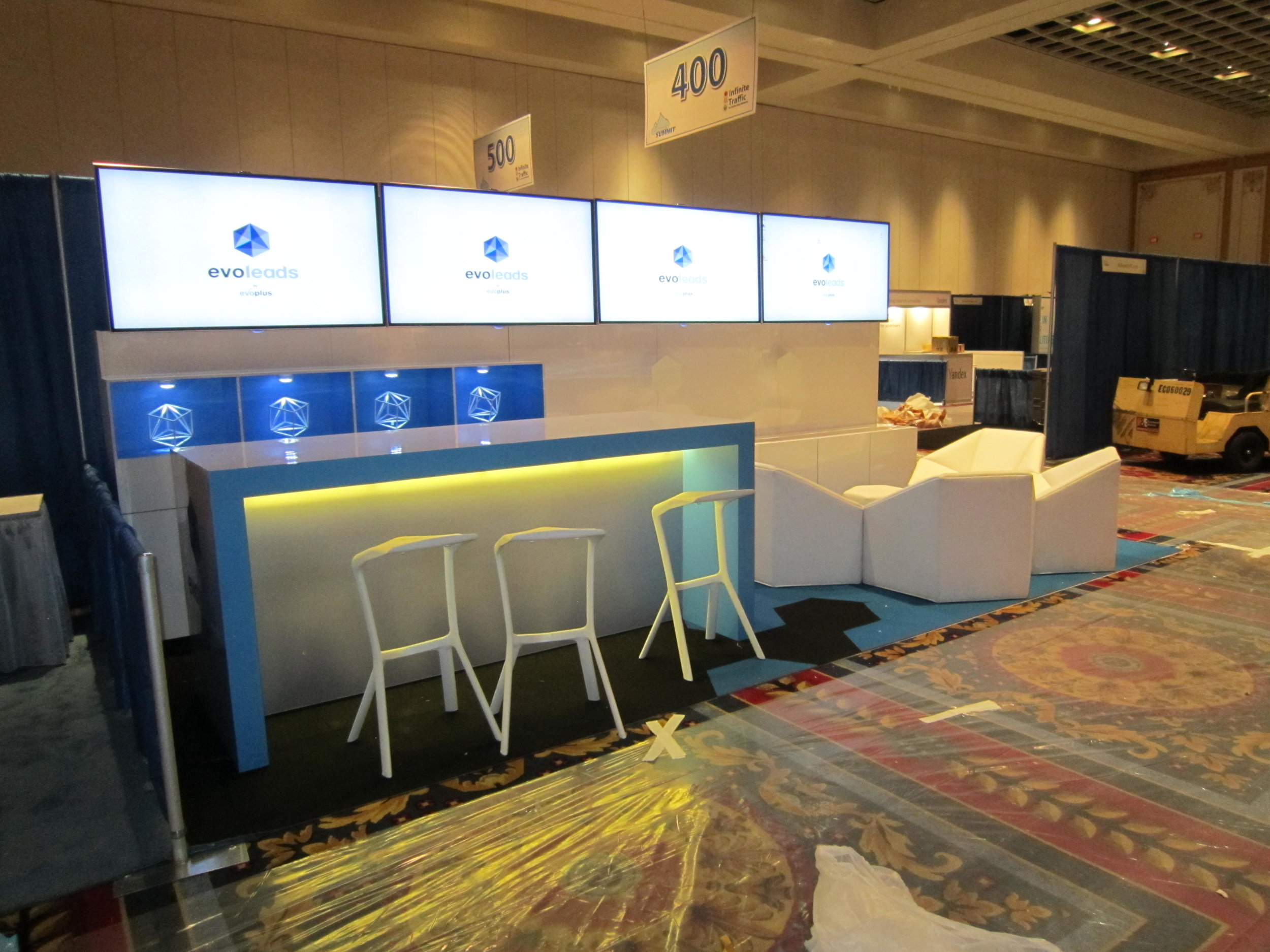 Exhibition Booth Types : Most common types of trade show booths