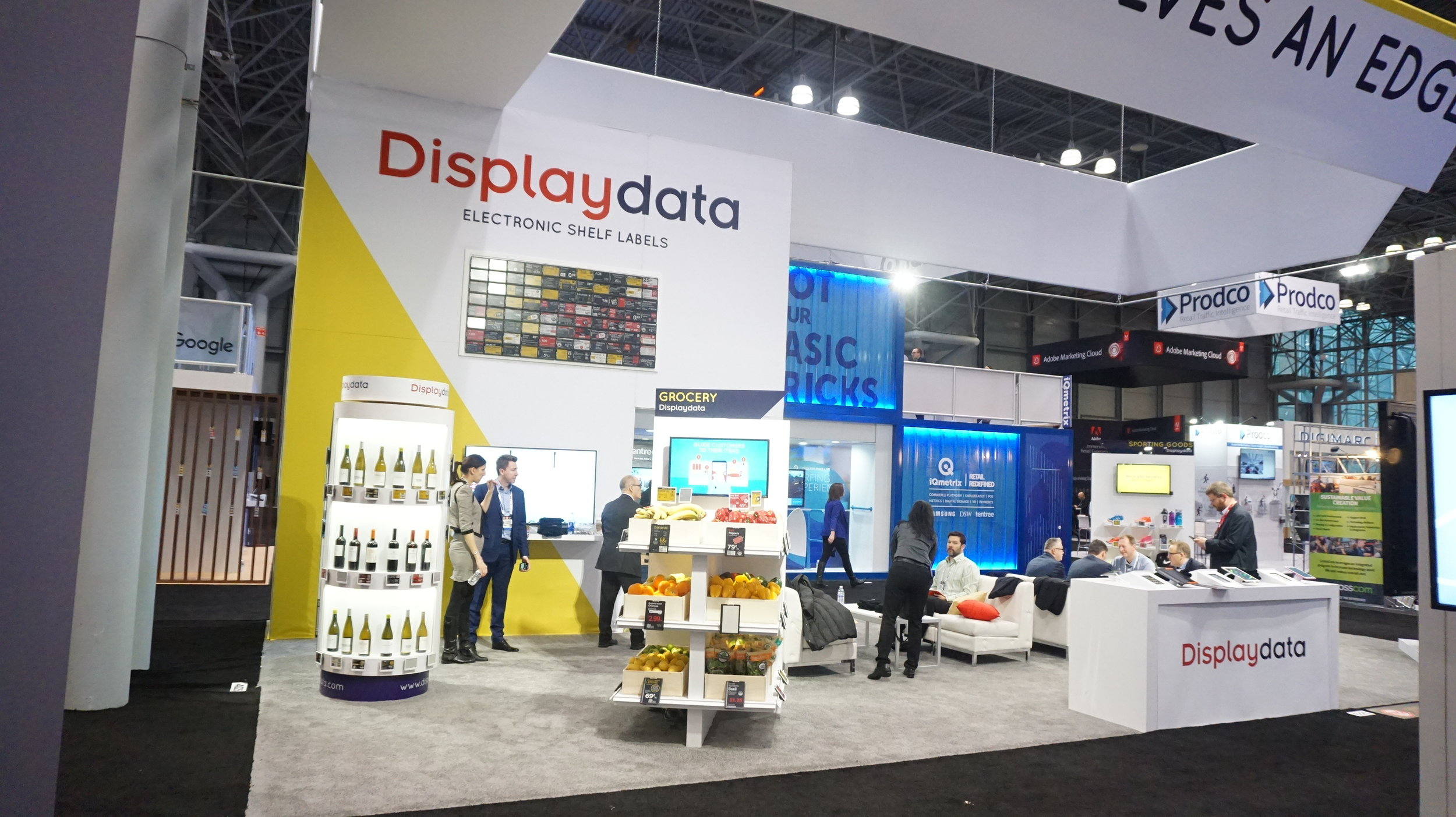 DisplayData Booth by NimlokNYC