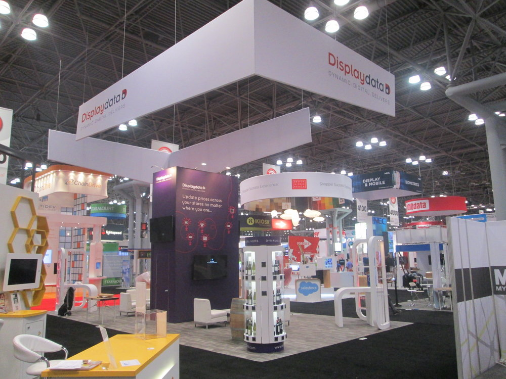 Displaydata – trade show exhibit