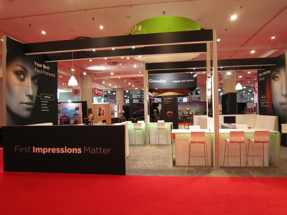 Presperse Custom Rental Booth