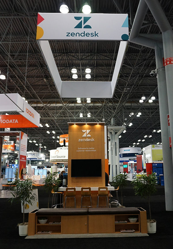 ZenDesk Trade Show Booth