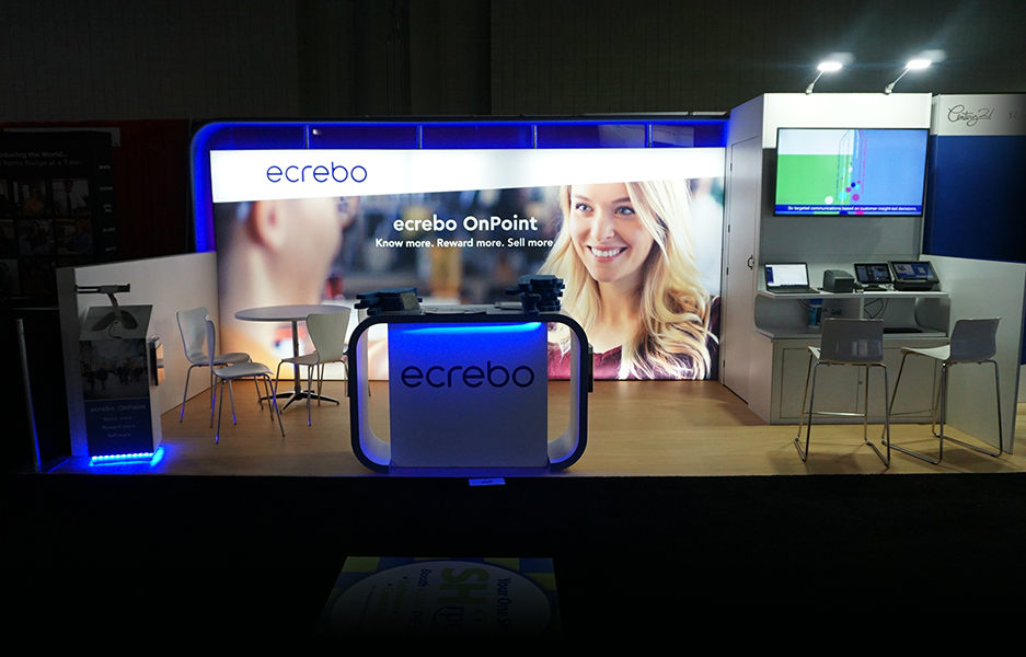 Ecribo Trade Show Booth