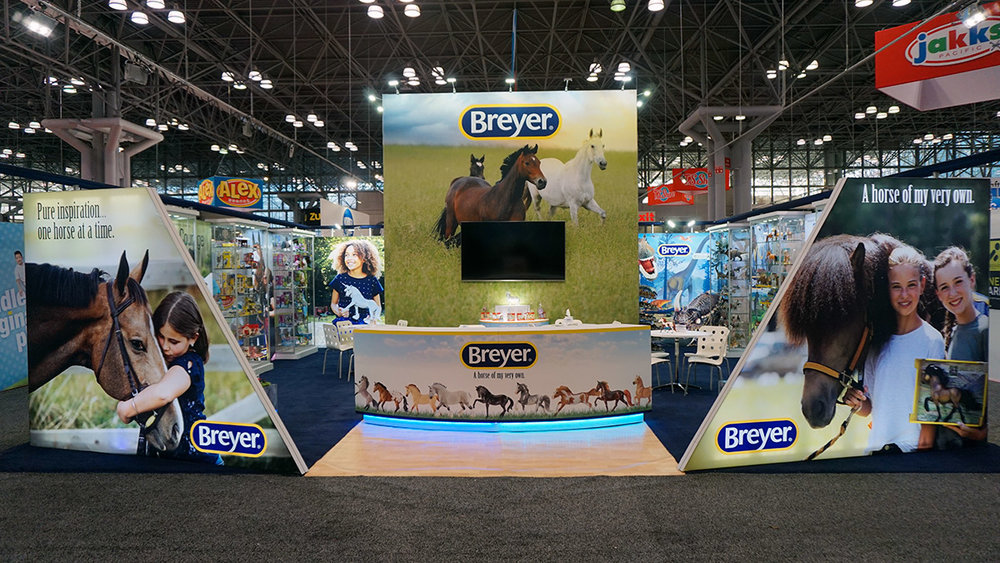 Breyer Trade Show Booth
