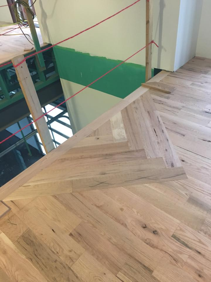 custom wood floor design