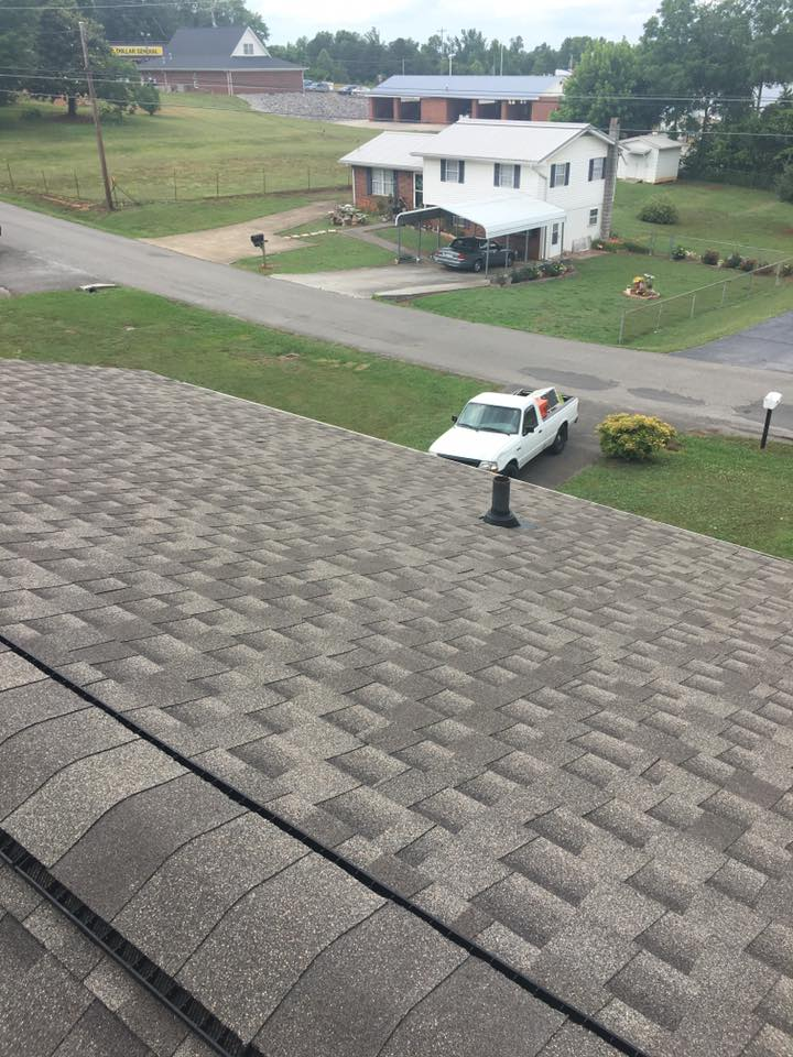 shingle roof GAF weatherwood timberline HD