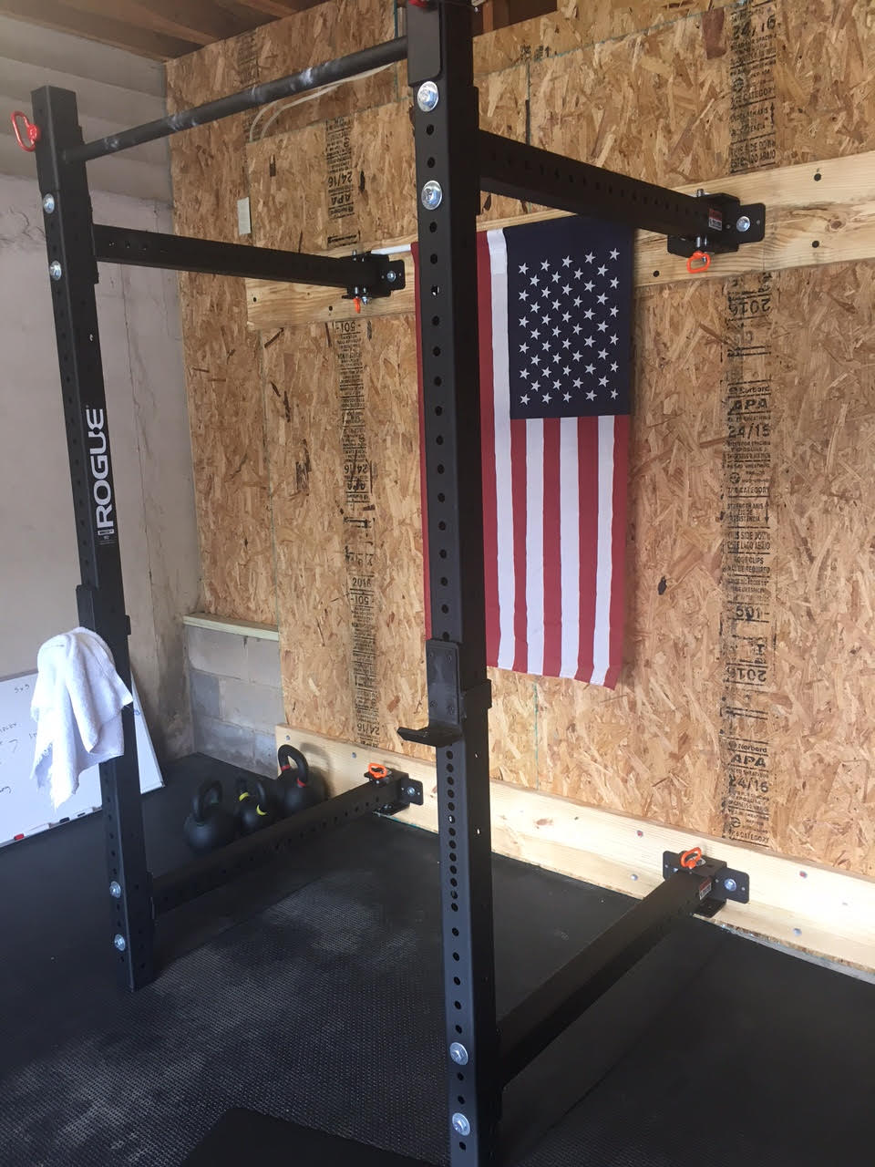 fitness equipment installation rogue fitness