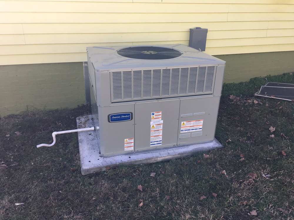 package heat pump hvac american standard trane