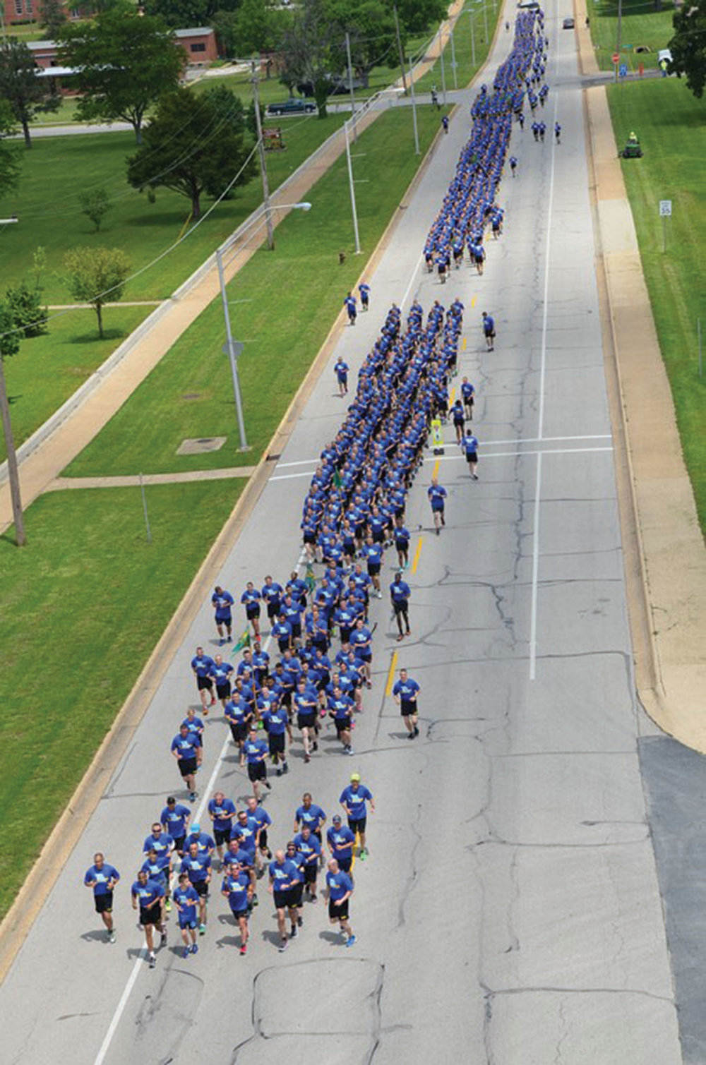 More than 1,700 runners took part in the Law Enforcement Torch Run (R) at Fort Leonard Wood