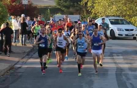 Runners hit the streets of Clayton, Mo.