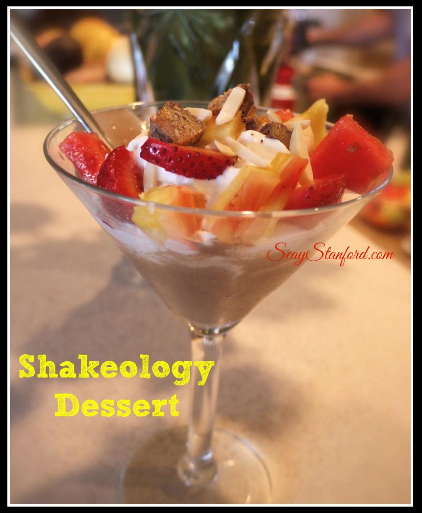 Shakeology Dessert