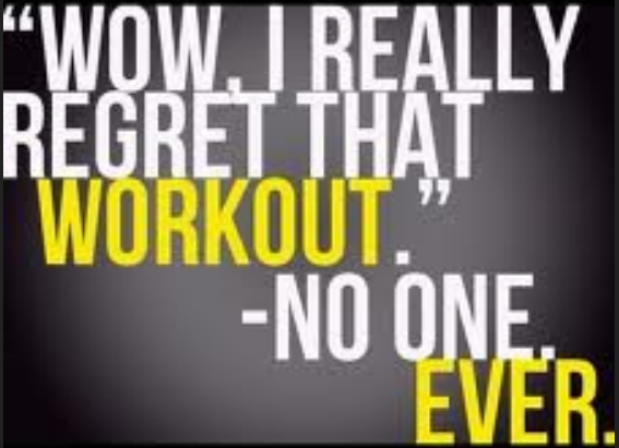 Workout Regret