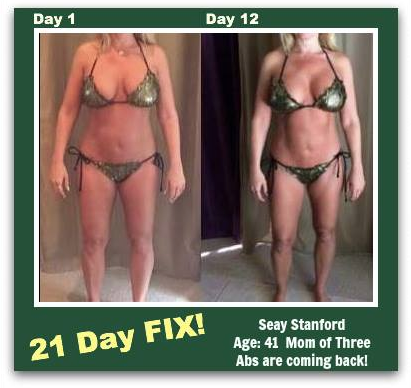 Seay Stanford 21 Day Fix