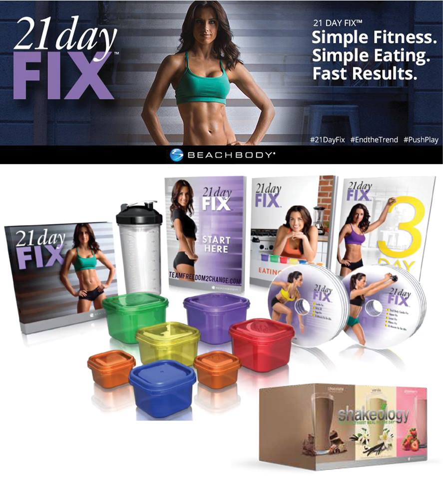 21 Day Fix Beachbody Fitness and Nutrition Program