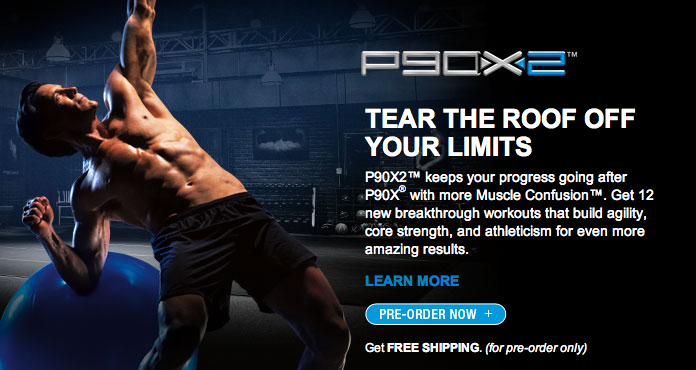 Beachbody Program P90X-2 by Tony Horton