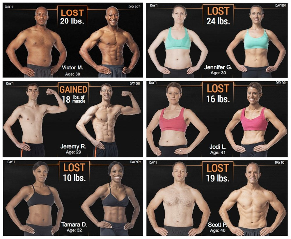 Get Results with P90X-3