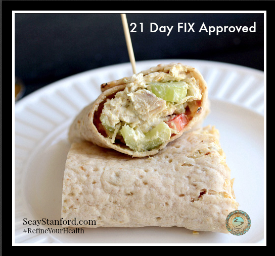 21 Day FIX approved lunch idea