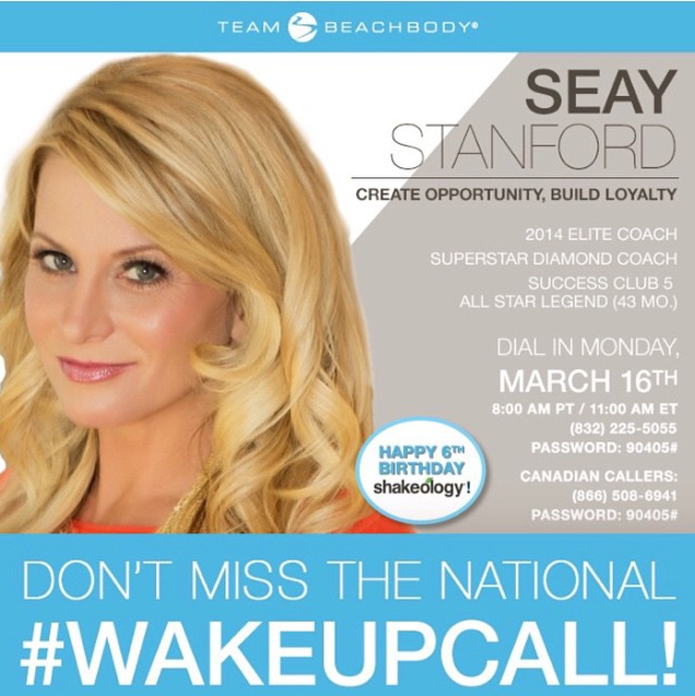 Seay Stanford Top Beachbody Coach