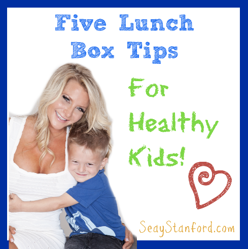 Click Here for My Five Great Lunch Ideas!