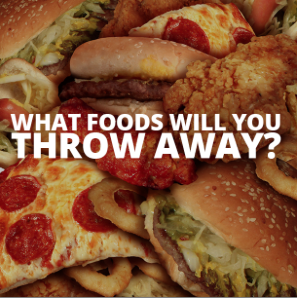 What Foods will you throw away?