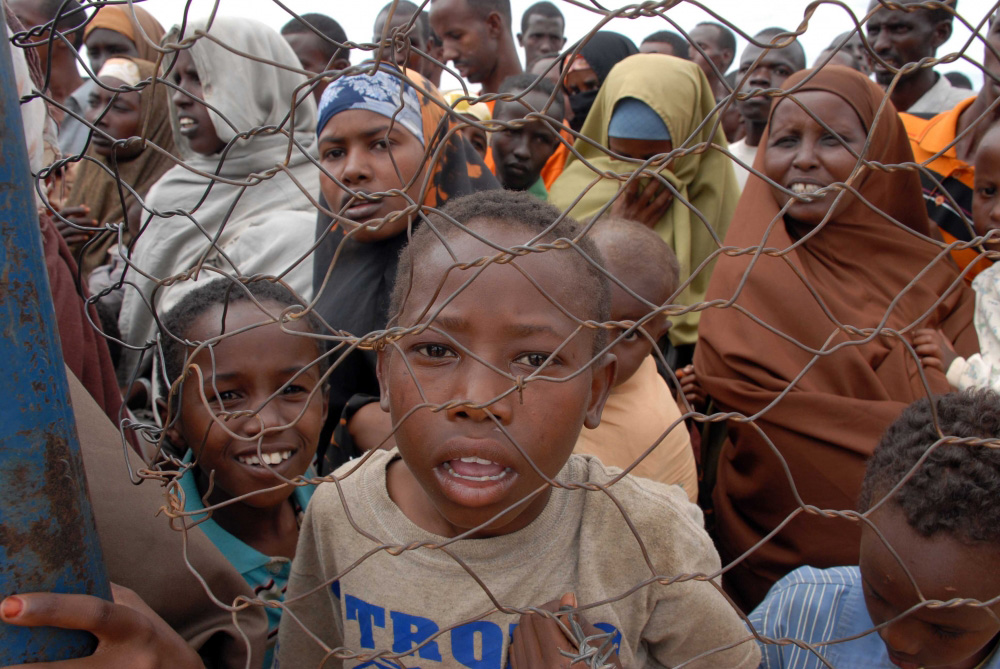 Somalis arriving at the Dadaab refugee camp in 2008. Photo: IRIN/Allan Gichigi