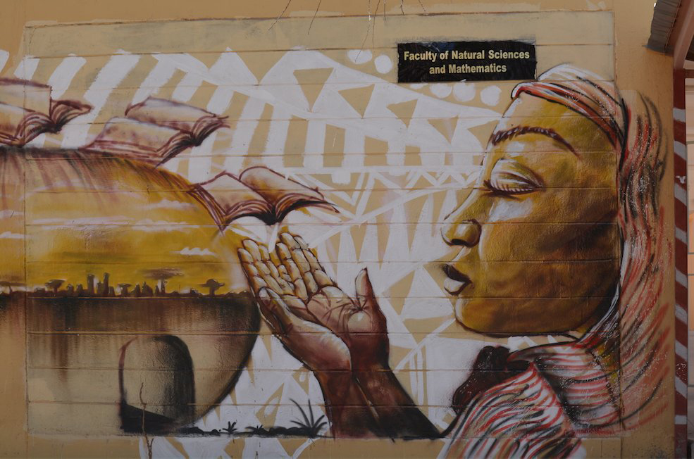 Header photo: Mural at Garissa University College. Photo: © Garissa University College