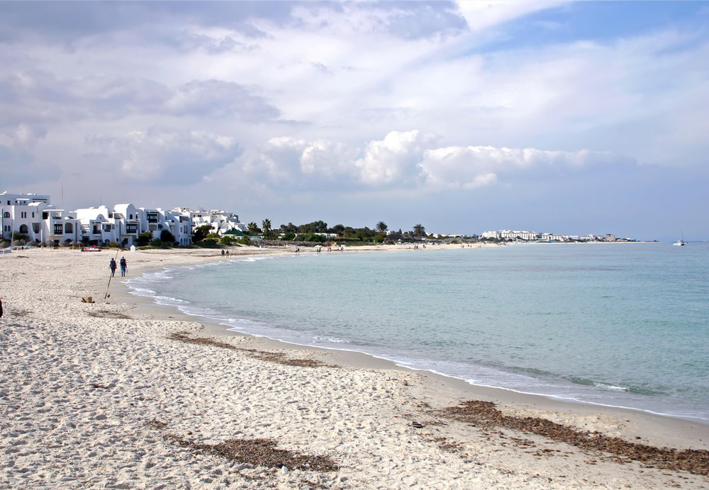 Port El Kantaoui Beach, Sousse. Photo: Tony Hisgett