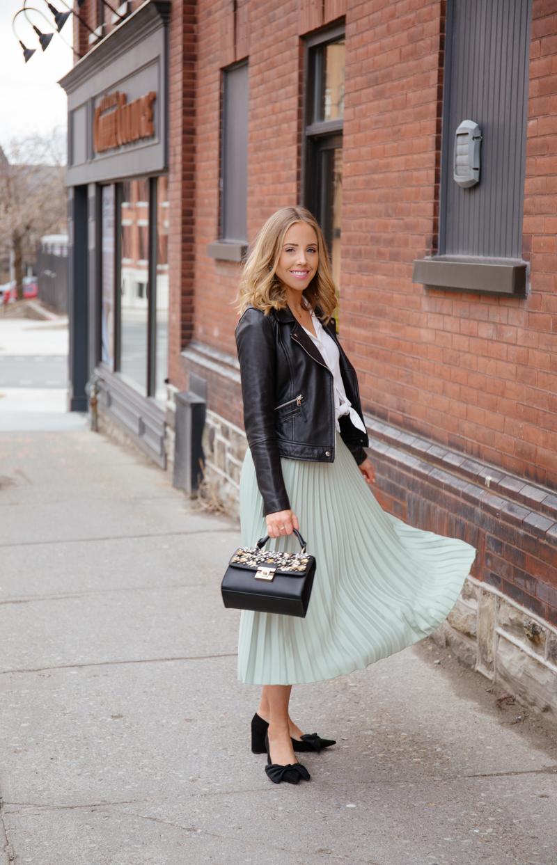 Zara Green Skirt-5.jpg
