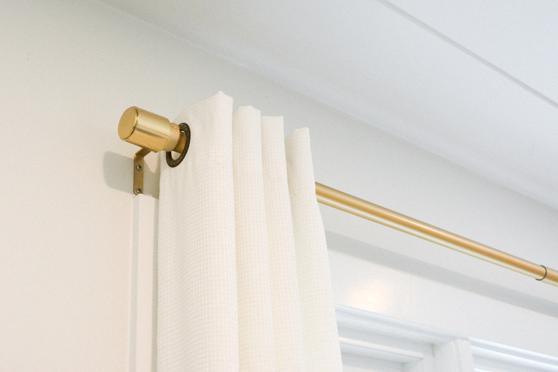 Gold Curtain Rod from  Homesense Canada