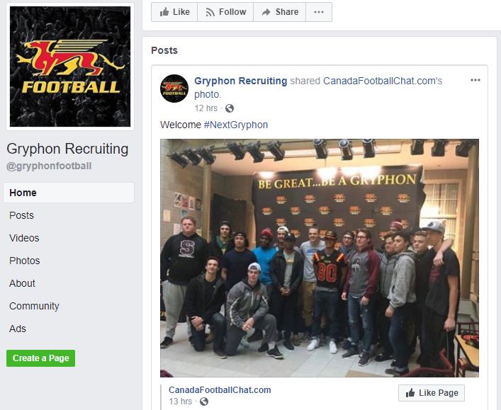 https://www.facebook.com/gryphonfootball/