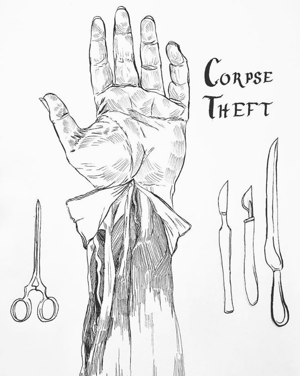 Corpse Theft and the Resurrection Men