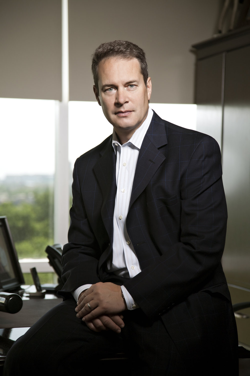 Charlie Vogt, CEO Imagine Communications (Office).JPG