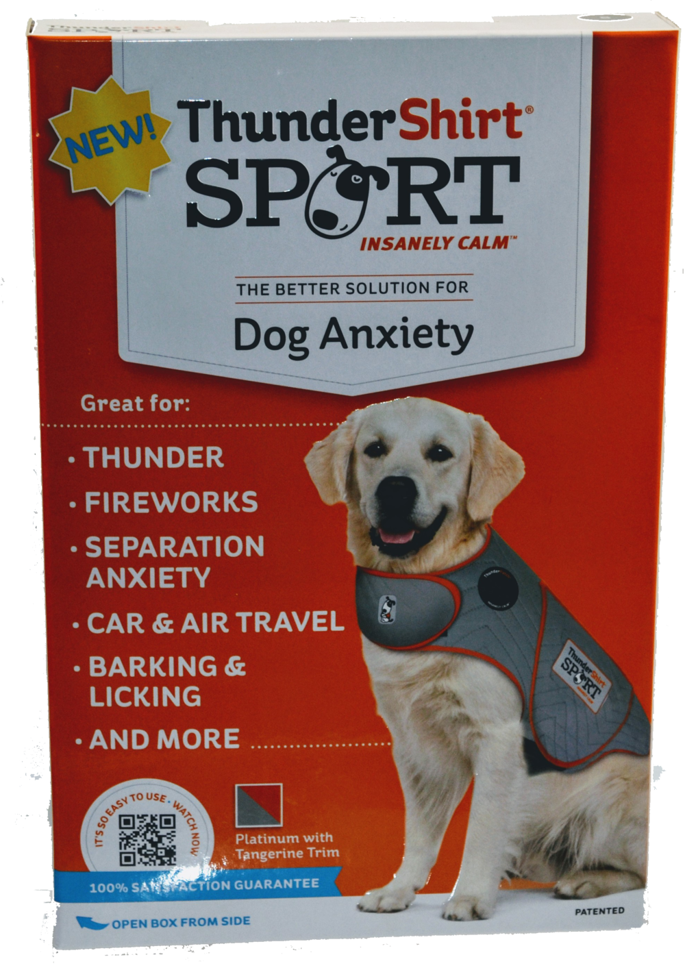 Thundershirt Vest Product for reduced pet anxiety and more, now available at Pet Express Animal Hospital.